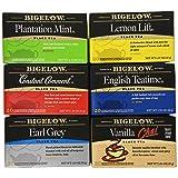 Bigelow Black Tea Variety Pack 120 Bags Caffeinated Individual Black Tea Bags, for Hot Tea or Iced Tea, Drink Plain or Sweetened with Honey or Sugar (Tamaño: 120 Count)