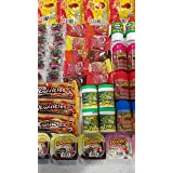 Glam Lux Candy Assortment of Delicious Mexican Candy Sweet & Spicy Tangy, Vero Mango, Baby Lucas, Pica Fresa, Pelon Pelo Rico, Duvalin & More!