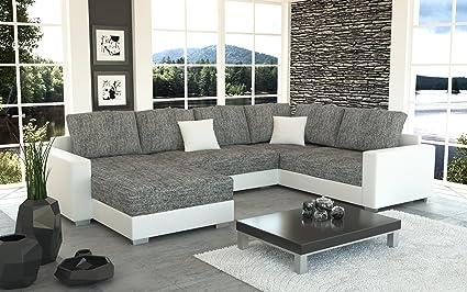 Sofa Couchgarnitur Couch Sofagarnitur STY 4 U Polstergarnitur Polsterecke Wohnlandschaft mit Schlaffunktion