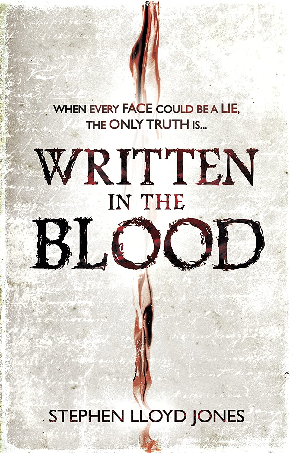 Written in the Blood Book Cover