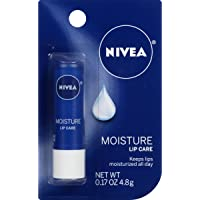 6-Pack Nivea Moisture Lip Care 0.17 Ounce Stick