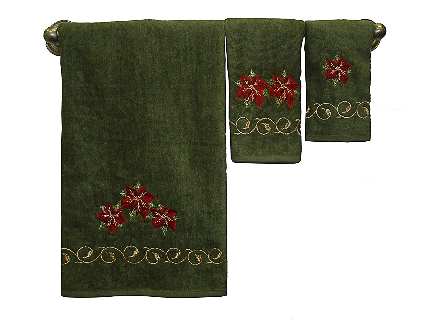Christmas 3 Piece Decorative Towel Set