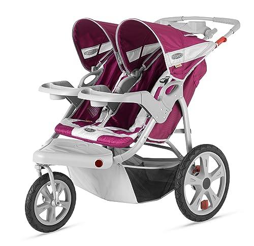 InStep Safari double stroller swivel
