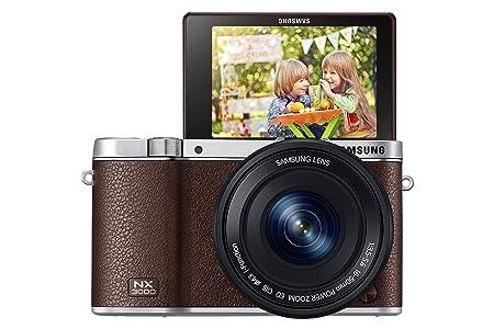 Samsung NX3000 Kit brun + 16-50 PZ + SEF-8A