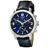 Tissot Men's TIST0554171604700 200 Analog Display Swiss Quartz Blue Watch (Color: Blue)