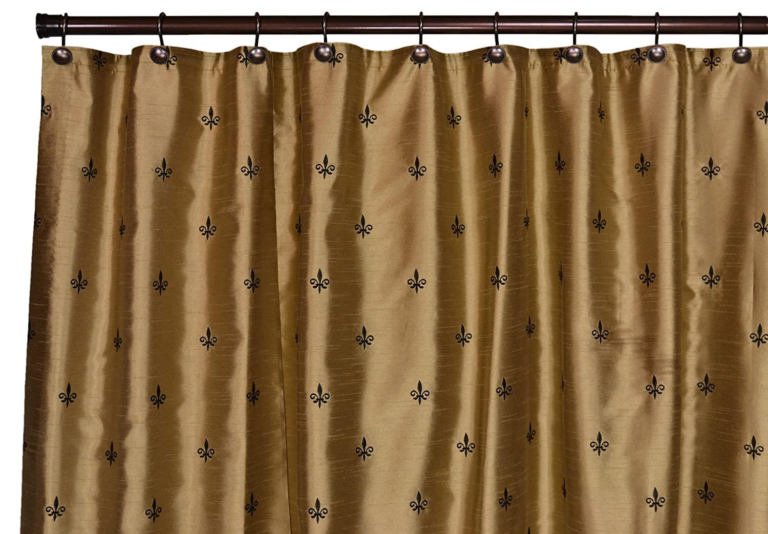 Fleur de Lis Shower Curtain and Bathroom Accessories