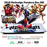 888Warehouse - Brand New 2018 Pandora's Box 6S With 1399 Games in 1 Retro Video Games, Comes With Double Stick Arcade Console, Supports HDMI and VGA Output for TV and PC By 888Warehouse