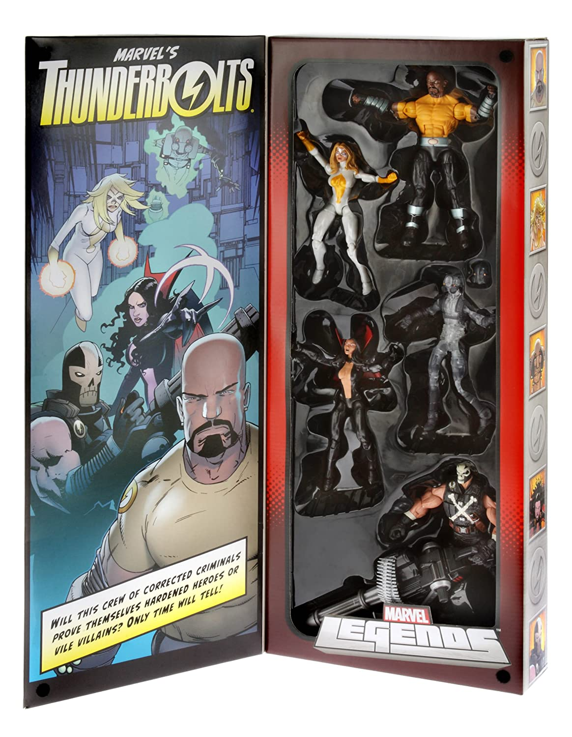 Marvel Legends Actionfiguren-Set: Thunderbolts (SDCC 2013 Exclusive) günstig kaufen