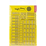 Waffle Flower Crafts 271190 Clear Stamp 5