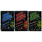 Assorted POP ROCKS Candy 12 Packs, Each pack is 0.33 oz (9.5 g) (Color: Multi-colored, Tamaño: One Size)
