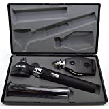 TAXXAN Fiber Optic Otoscope ENT Diagnostic Set with Extras
