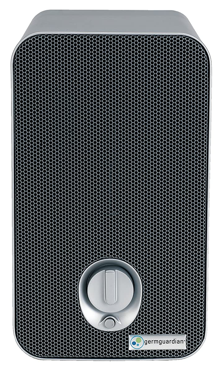 GermGuardian AC4100 3-in-1 Air Cleaning System with HEPA Filter, UV-C Sanitizer, Allergen and Odor Reduction, 11-Inch Air Purifier