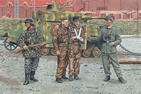 Dragon - D6648 - Maquette - Panzergrenadiers Arnhem 1944 - Echelle 1:35