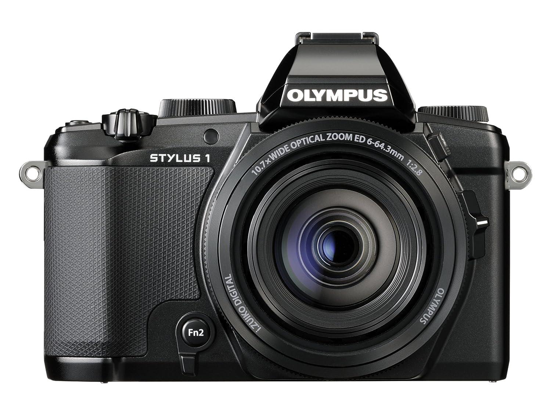 Digital Cameras OLYMPUS STYLUS1 BLACK 12MPIXELS