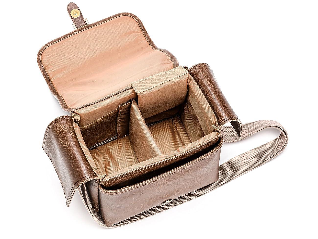 Olympus Tracker Classic Design Vintage Camera Bag (Brown) 1