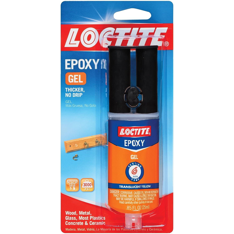 Loctite Epoxy Gel 0 85 Fluid Ounce Syringe 1405602