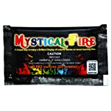 Mystical Fire Flame Colorant Vibrant Long-Lasting Pulsating Flame Color Changer for Indoor or Outdoor Use 0.882 oz Packets 25- Count Box (Color: Mystical Fire, Tamaño: 25 Pack)
