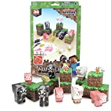 Minecraft Papercraft Animal Mobs Set (Over 30 Pieces) (Color: Multi-colored, Tamaño: One Size)