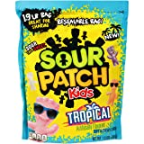 Sour Patch Kids Tropical Fat Free Candy, 1.9 lb