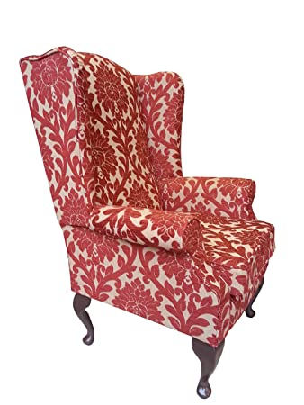 Keswick High Back Wing Chair + Free footstool worth £99.99