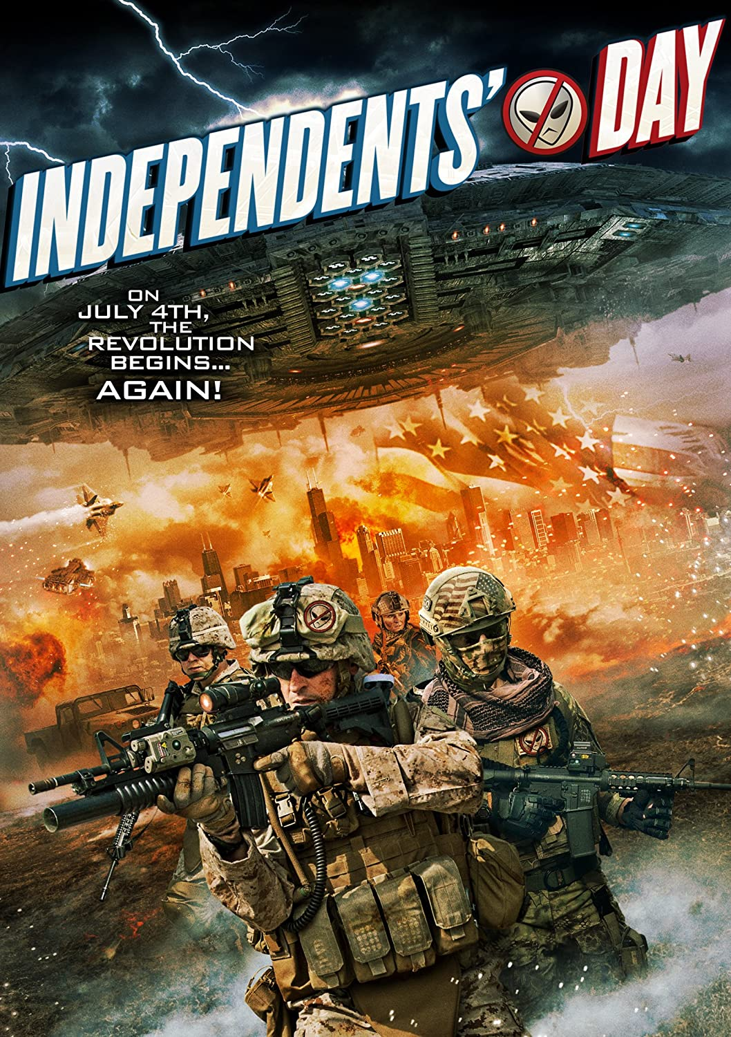 Independents Day 2016 HDRip XviD AC3-EVO 1.4 Gb