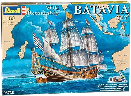 Revell - 5728 - Maquette Classique à Peindre et à Coller - Coffret Cadeau Batavia
