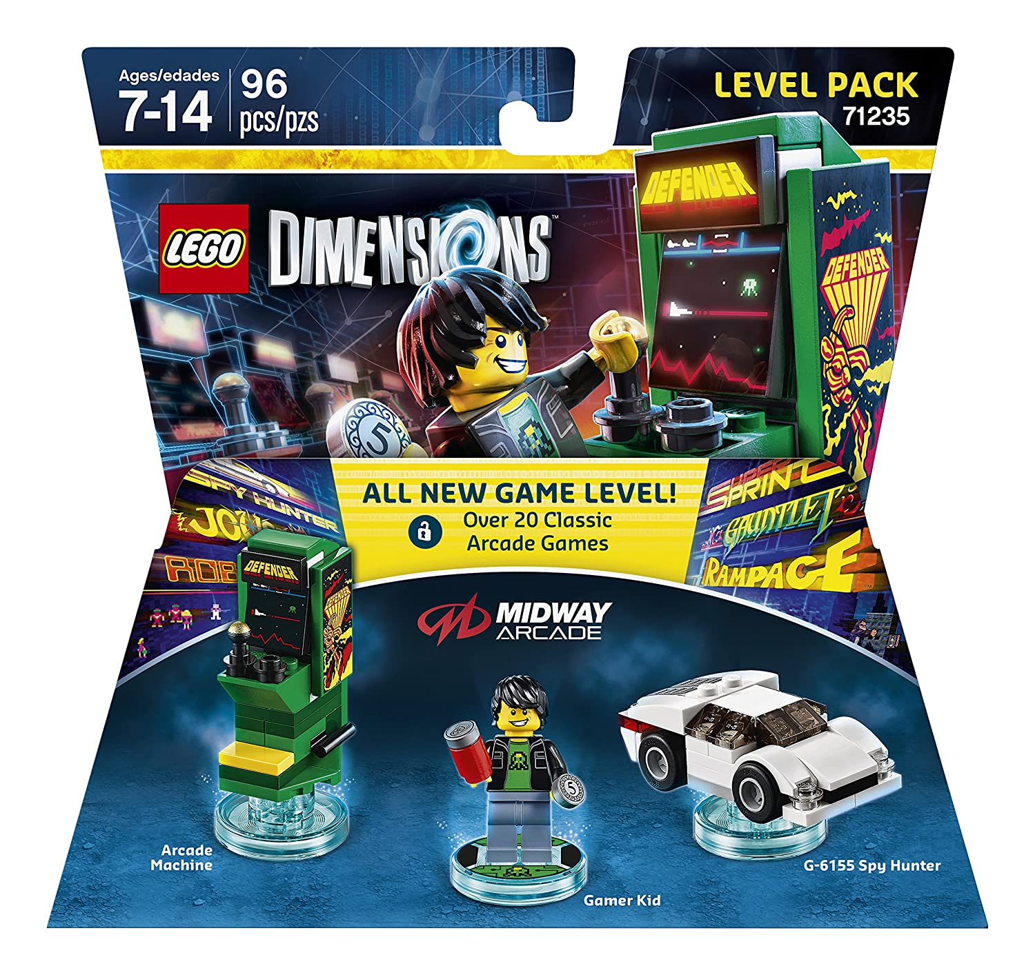 Ask Your Questions About LEGO Dimensions Midway Arcade Retro Gamer