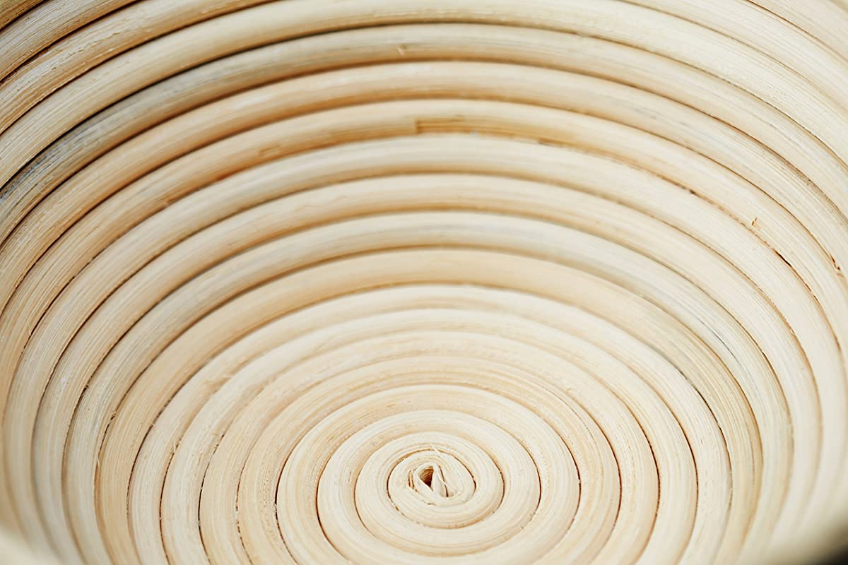 Banneton Bread Proofing Basket - (Brotform) - Bake Beautiful Artisan Bread In This 9 Inch Rattan Basket