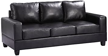 Glory Furniture G303A-S Living Room Sofa, Black