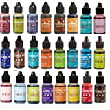 Tim Holtz Adirondack Alcohol Ink 24 bottle Mega Set (Tamaño: 24 Bottle Set)