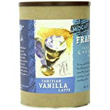 MOCAFE Frappe Tahitian Vanilla Latte Ice Blended Coffee, 3-Pound Tin Instant Frappe Mix, Coffee House Style Blended Drink Used in Coffee Shops