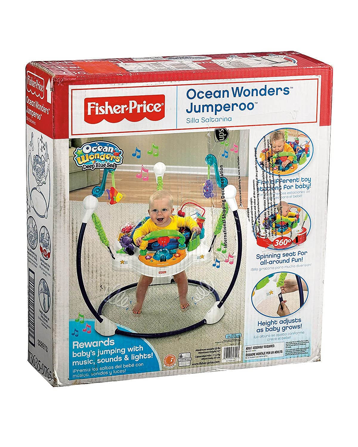 Fisher-Price Ocean Wonders Jumperoo