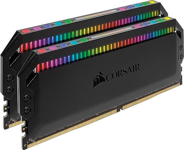Corsair Dominator Platinum RGB 16GB (2x8GB) DDR4 4266 (PC4-34100) C19 1.4V Desktop Memory (Color: RGB, Tamaño: 16GB (2x8GB))