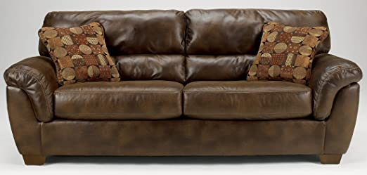 Light Brown Sofa by Ashley Furniture