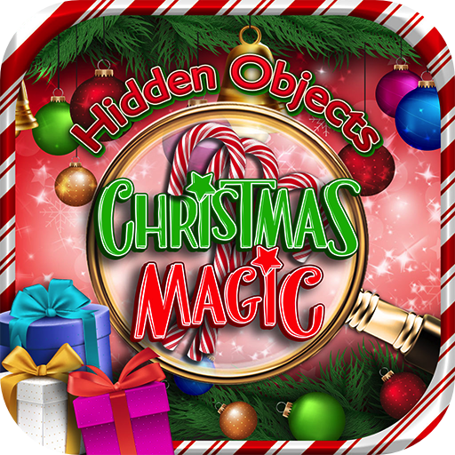 Hidden Objects Christmas Magic Winter Holiday - Object Time Puzzle Seek & Find Santa Game in New York, London, Paris, Las Vegas, Florida (Letter Quest compare prices)