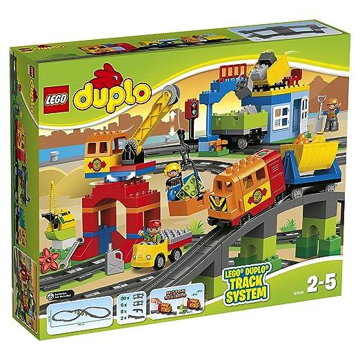 LEGO - 10508 - DUPLO - Jeu de Construction - Mon Train de Luxe