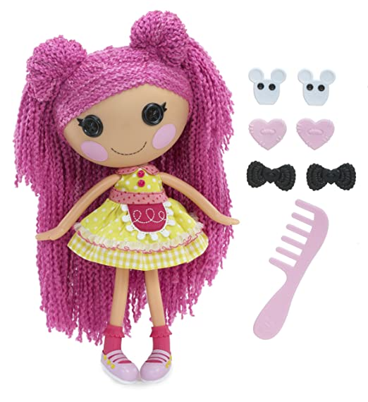 Lalaloopsy - Loopy Hair - Crumbs Sugar Cookie - Poupée à Coiffer 33 cm