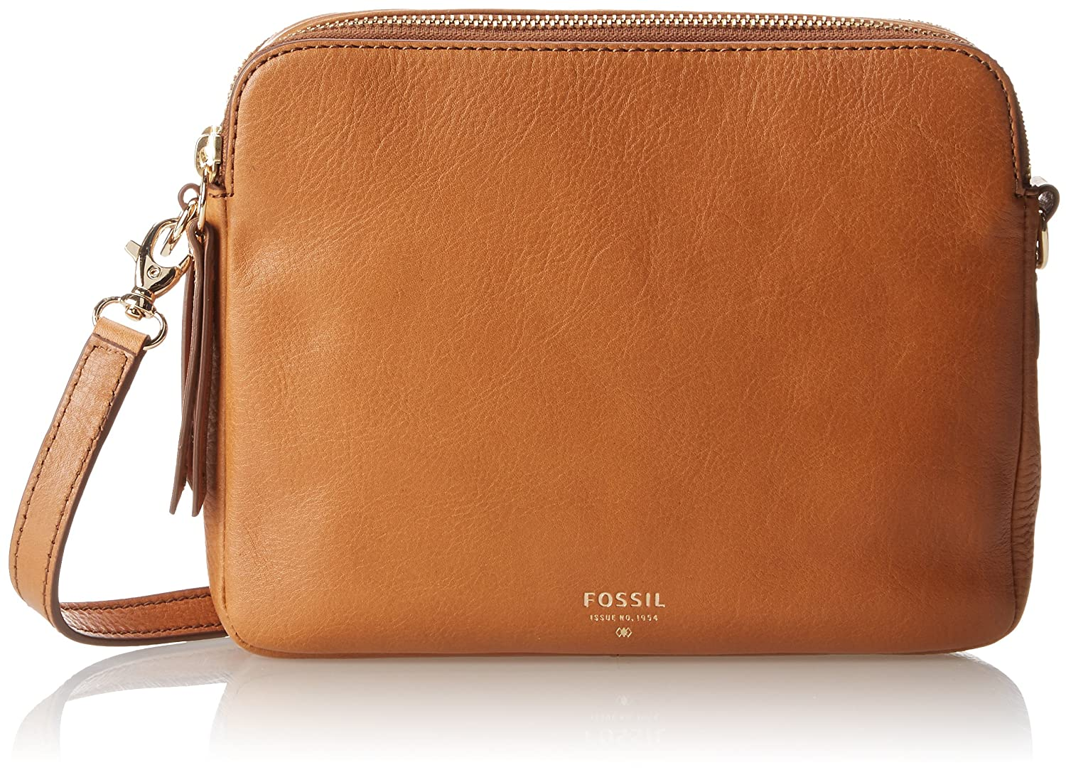 Fossil Sydney2 Cross Body Bag,Camel,One Size