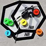 SILICONE ALLEY FULL SET 3 Carving Tool + 3 Non-stick Black Hexagon Mat + 5 Solid-colored Wax Jars Containers + 1 Black Pen Holder (Color: Black)