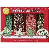 Food Items 710-0-0214 MEGA Sprinkle Set, Traditional Christmas (Color: Traditional Christmas)