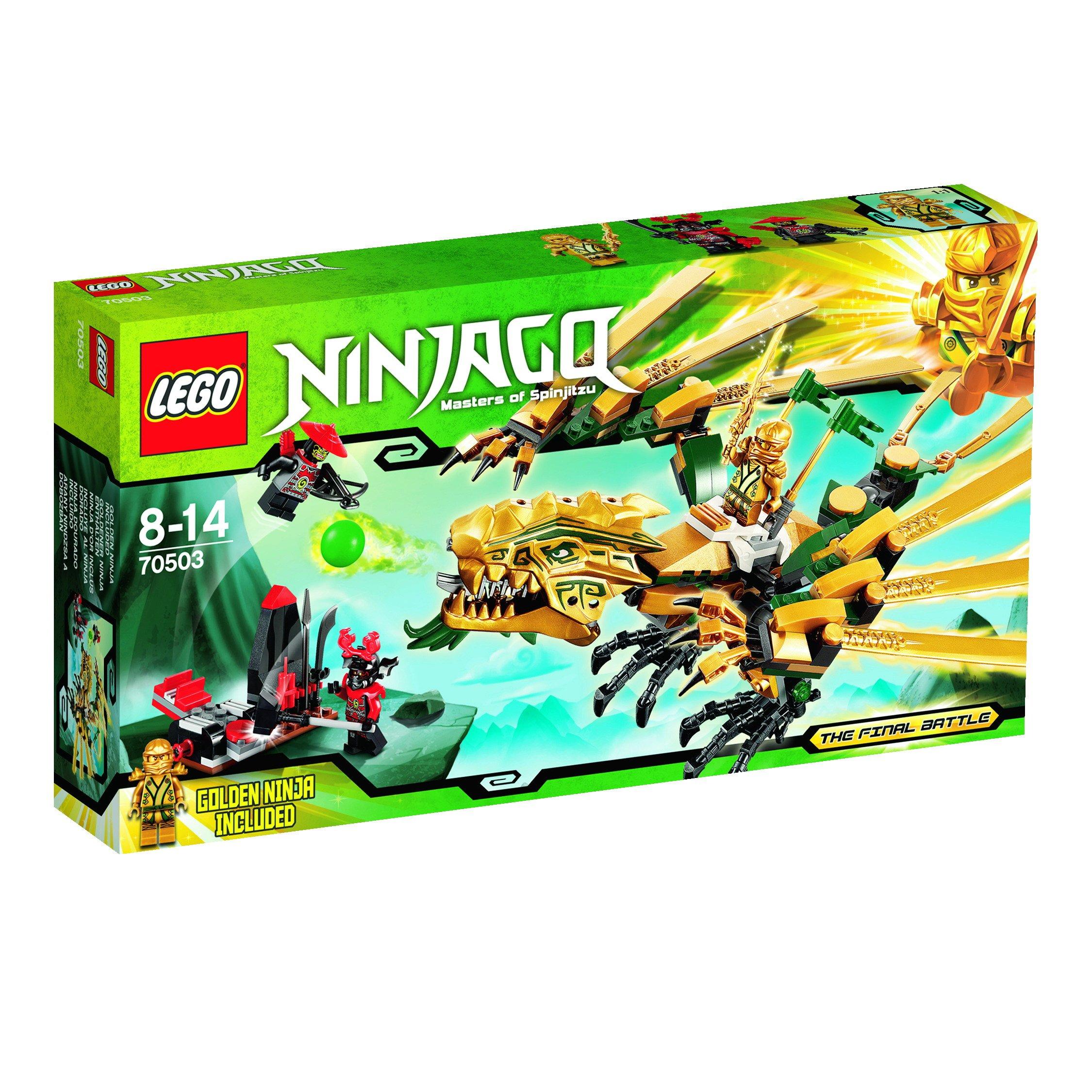 lego ninjago 70503 the golden dragon lego ebay. Black Bedroom Furniture Sets. Home Design Ideas