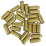 25 Replica Bullets - M1 Submachine Gun Denix 45 Caliber Auto Dummy Ammo Cartridge Rounds