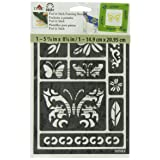 FolkArt Peel and Stick Painting Stencil, 30582 Butterfly (Color: Butterfly)