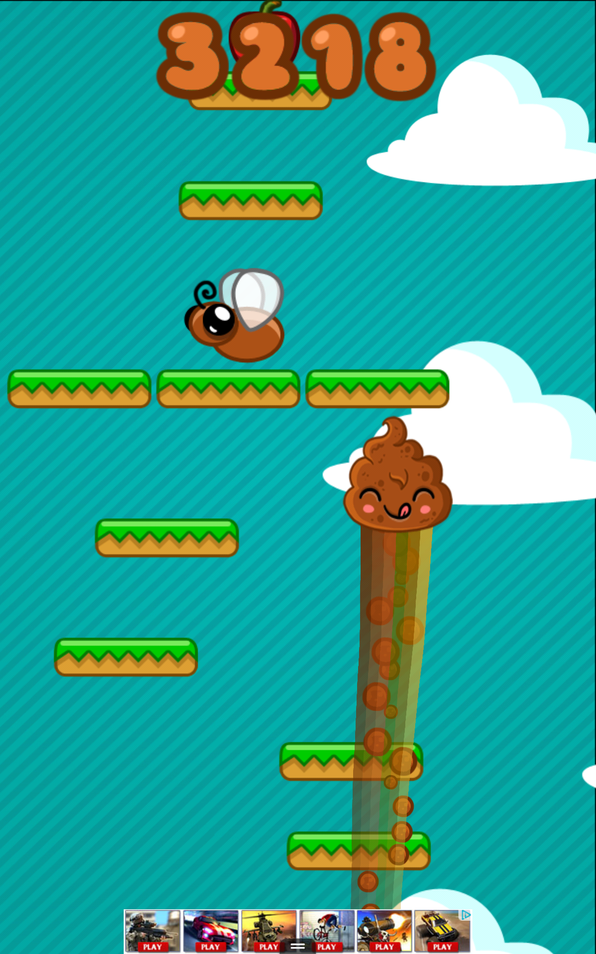 Happy Poo Jump