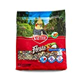 Kaytee Fiesta Max Bird Food for Cockatiels, 4-1/2-Pound