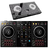 Pioneer DDJ-400 DJ Controller (with Decksaver cover) (Tamaño: with Decksaver cover)