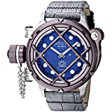 Invicta Men's 16237 Russian Diver Analog Display Mechanical Hand Wind Grey Watch (Color: blue)