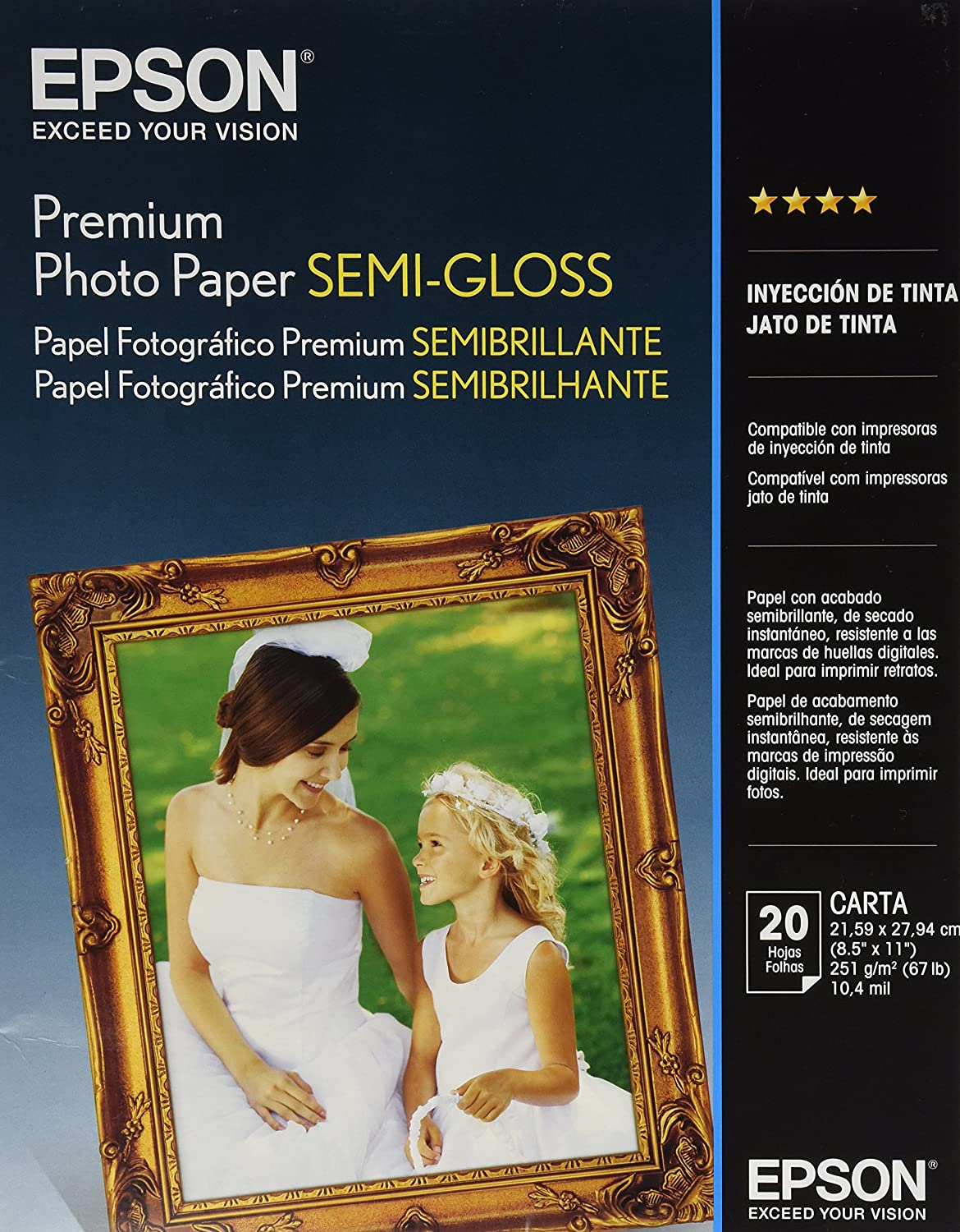 Gloss Paper Photo Paper Semi-gloss