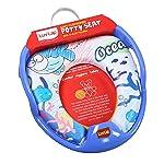 LuvLap Baby Potty Seat Blue Ocean