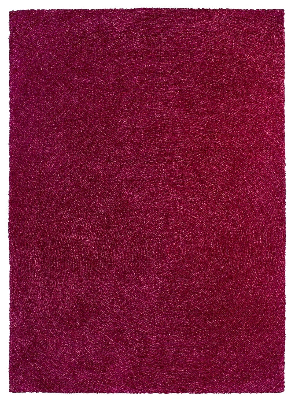 Sona-Lux Teppich handgetuftet pink